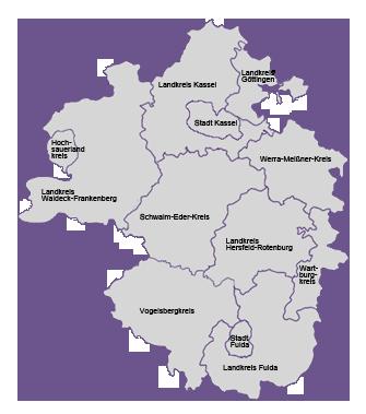Gebietskarte